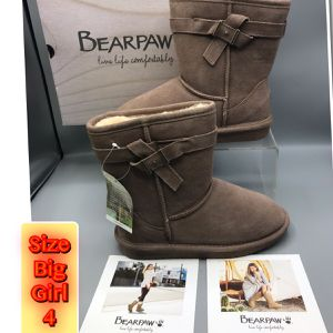 Bear Paw Live life Comfortable Taupe Big Girl Size 4 for Sale in Middletown, NJ