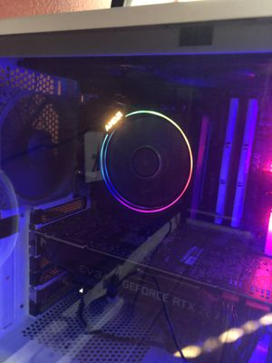Used Ryzen 7 3700x w/wraith prism cooler for Sale in Simi Valley, CA