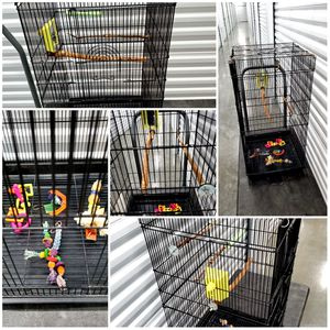 Lg. Bird Cage w/ accessories for Sale in Salt Lake City, UT