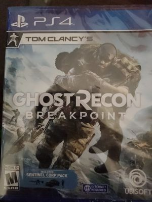 PS4 Ghost Recon breakpoint Shipping USPS first Class for non local buyers for Sale in Savannah, GA
