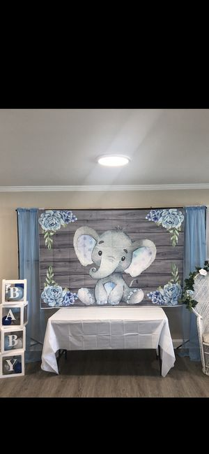 Boy baby shower decorations for Sale in Orlando, FL