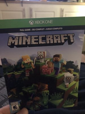 Minecraft Xbox one for Sale in Rancho Cucamonga, CA