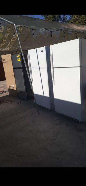 Fridge refrigerator freezer frigidaire Kenmore emerson whirlpool apartment sized delivery available stainless steel appliances refrigerador refri for Sale in San Bernardino, CA