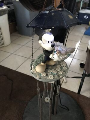 Mickey Mouse solar wind chime for Sale in Los Angeles, CA