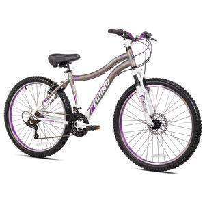 "Genesis 26"" Whirlwind Women Mountain Bike, Aluminum Frame - Gray for Sale in Houston, TX"