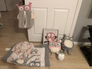 Owl Nursery items for Sale in Miami, FL