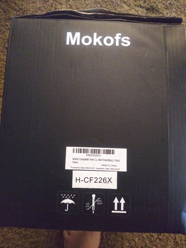 Mokofs toner cartridges 2 pk