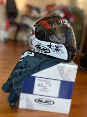 HJC Samurai MC1 motorcycle helmet used only twice! for Sale in Falls Church, VA