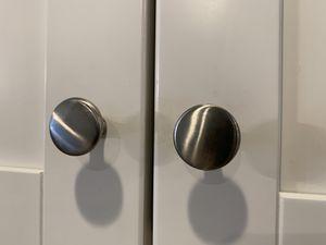 Cabinet hardware, satin nickel for Sale in Denver, CO