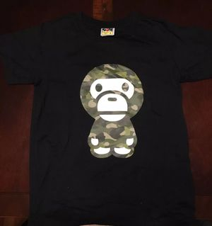 *Brand New* Officially Licensed BAPE. Baby Milo Camo. Woman's Small T-Shirt for Sale in N BELLE VRN, PA