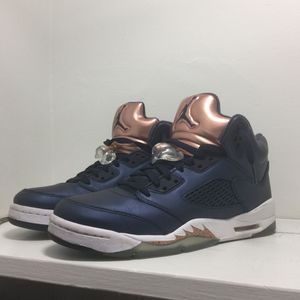 Retro Jordan 5 Bronze, Only Worn 3 Times, Price 140 Or We Can Negotiate. for Sale in Springfield, MA