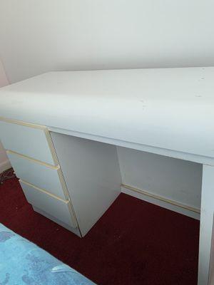 Desk white laminate for Sale in Miami, FL