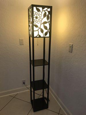 Column floor lamp for Sale in Hobe Sound, FL