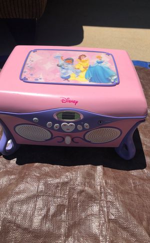 Disney Princess CD player for Sale in Fresno, CA