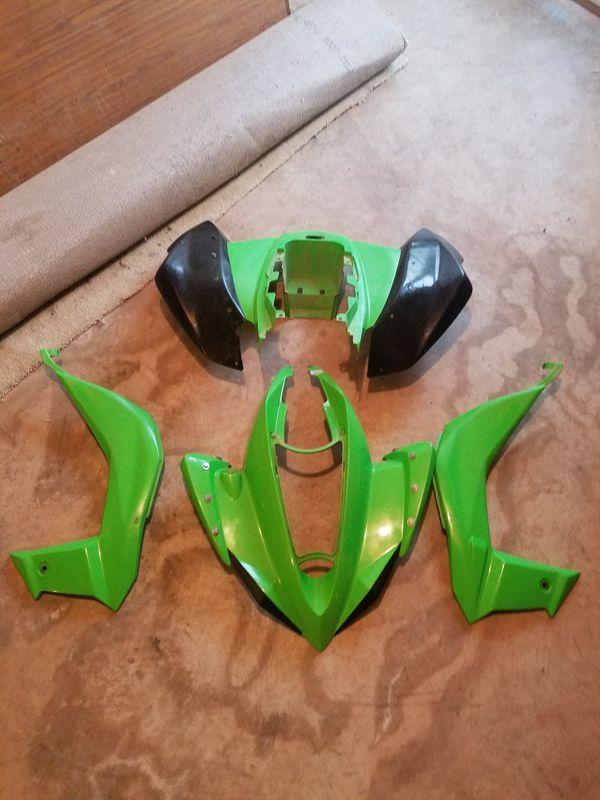 09 kfx 450 plastic