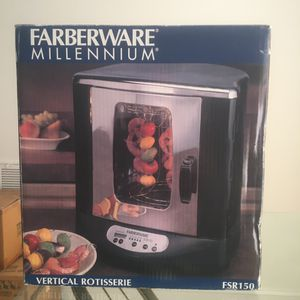 Farberware Millennium Vertical Rotisserie FSR150 for Sale in Morrisville, NC