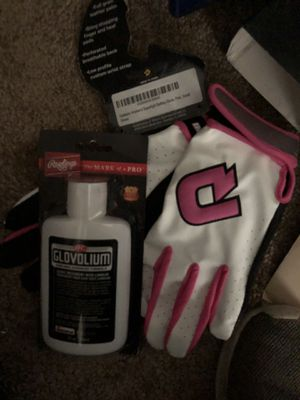 Brand new Girls Baseball Gloves and Glove Softener for Sale in Glastonbury, CT
