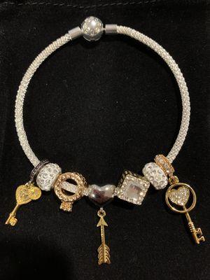 "Pandora style bracelet. Bracelet size: 8"" . 20 cm. for Sale in Buena Park, CA"