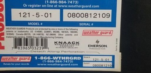 Weather Guard Truck Box for Sale in Portsmouth,  RI