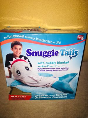 Snuggie Shark Tails As Seen On TV for Sale in Orlando, FL