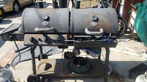 BBQ grill propane/ charcoal for Sale in Inglewood, CA