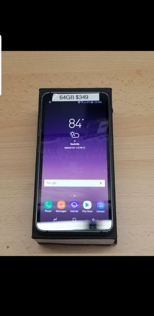 SAMSUNG GALAXY S8 ACTIVE 64GB UNLOCKED for Sale in Brentwood, TN
