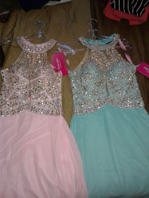 Brand new elegant gowns $60 a piece obo for Sale in Dallas, TX
