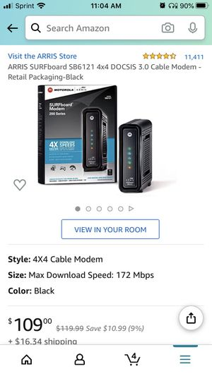Modem + WiFi router for Sale in Glendale, CA
