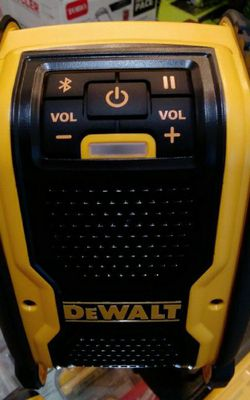 DEWALT 20V BLUETOOTH SPEAKER CORDLESS AND CORDED TOOL ONLY SOLO LA HERRAMIENTA for Sale in Riverside,  CA