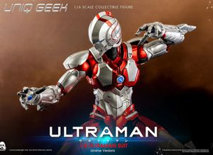 Ultraman Anime Version Suit 1:6 Scale Action Figure by ThreeZero for Sale in Los Angeles, CA