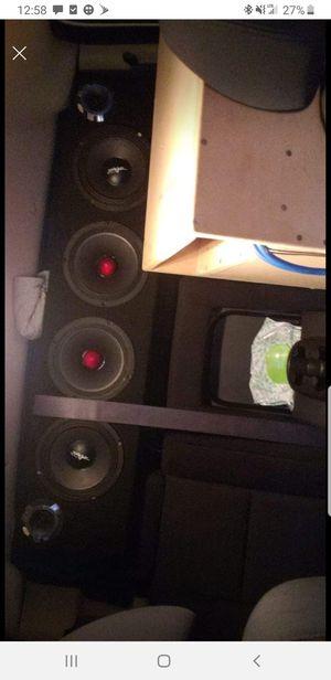 Mid rack with 3in super tweeter for Sale in Ewa Beach, HI