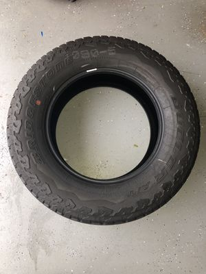 Set Of 5 tires Jeep Wrangler jl sahara tires 255/70/18 255/70r/18 a/t all terrain set of 5 Spare new Never used 2– 55-65 % 2–76-85% Just ba for Sale in Boca Raton, FL