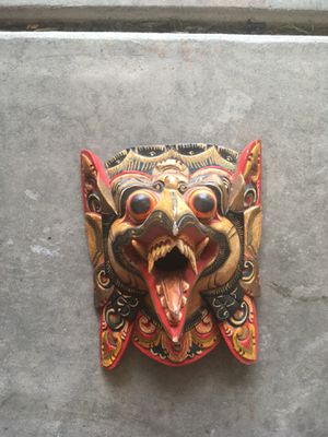 Hand Carved Mask for Sale in Tracy, CA