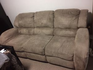 3 Piece Reclining Couch Set for Sale in Rockville, MD