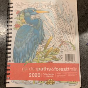 Coloring Book And Calender In 1 for Sale in Chico, CA