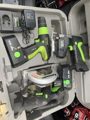 Cordless power tools with case for Sale in Philadelphia, PA