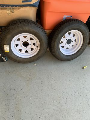 Brand new trailer tiers and rims for Sale in Murrieta, CA