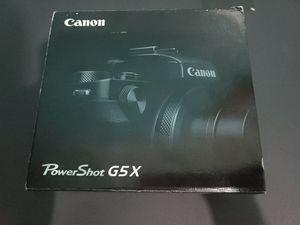 "Canon PowerShot G5 X Camera, 20MP, 1"" CMOS, 4.2X Optical, 3"" TFT, f/1.8-2.8 for Sale in Buffalo, NY"