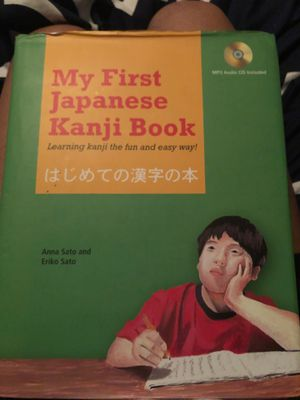 Kanji Japanese beginner book (Read description) for Sale in Palm Beach Gardens, FL