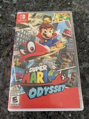 Super Mario Odyssey Nintendo Switch for Sale in Perris, CA