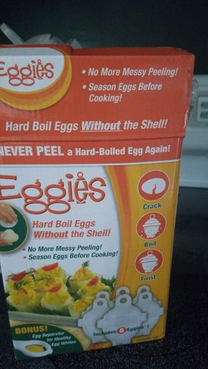 Eggies boil eggs without the shell for Sale in Laurel, DE