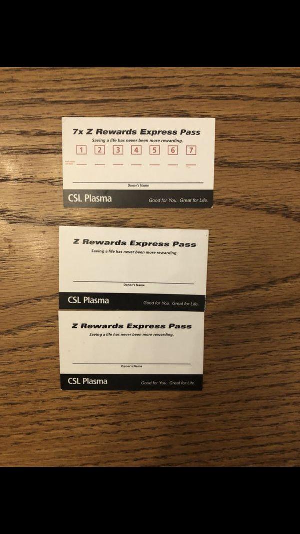 Csl plasma express pass