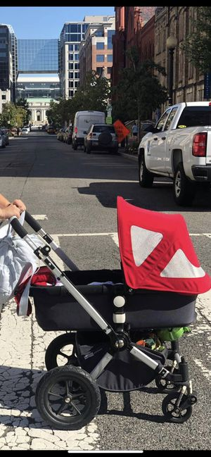 Bugaboo red cameleon for Sale in Washington, DC