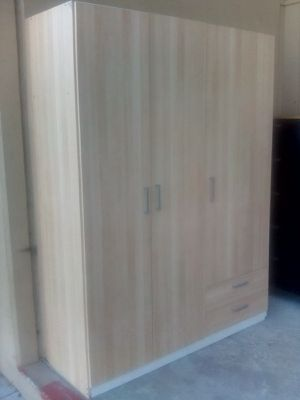 Ikea Birch wood double closet and dresser drawer shelves huge storage unit for Sale in Newport Beach, CA