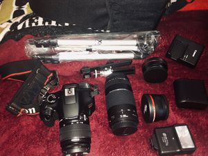 Canon EOS Rebel T6 DSLR Camera Kit for Sale in Glen Burnie, MD