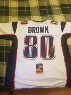 Patriots: Troy Brown Jersey for Sale in Tacoma,  WA