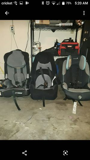 3 CHILD CAR SEATS.... Together or separate for Sale in Moore, OK