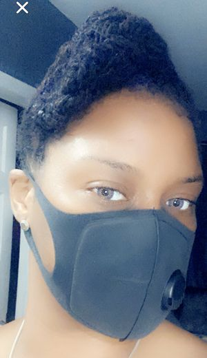 Black Mask Reusable and Comfortable Handmade very easy to Breathe 10$ for Sale in Miami Gardens, FL