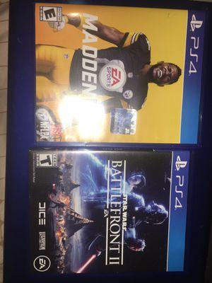 2 Ps4 games for Sale in North Miami, FL