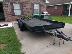 18ft Car Trailer..no rust.. excellent condition for Sale in STENNIS CTR, MS